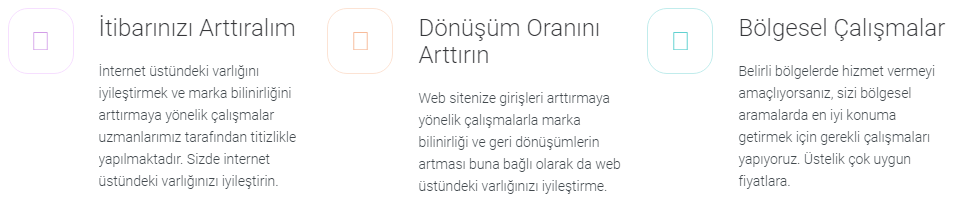 Beykoz Çamlıbahçe Web Tasarım
